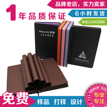 Custom notebook custom can be printed logo printing color core simple notepad diary custom business gifts