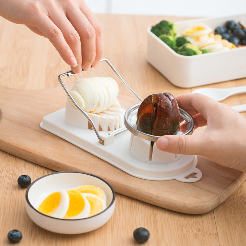 切蛋器切鸡蛋切皮蛋神器二合一切割器家用花式切松花蛋分割器切片