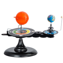 Sun Moon Earth Three-ball running instrument with lamp students using teaching simulation instruments public rotation childrens decoration