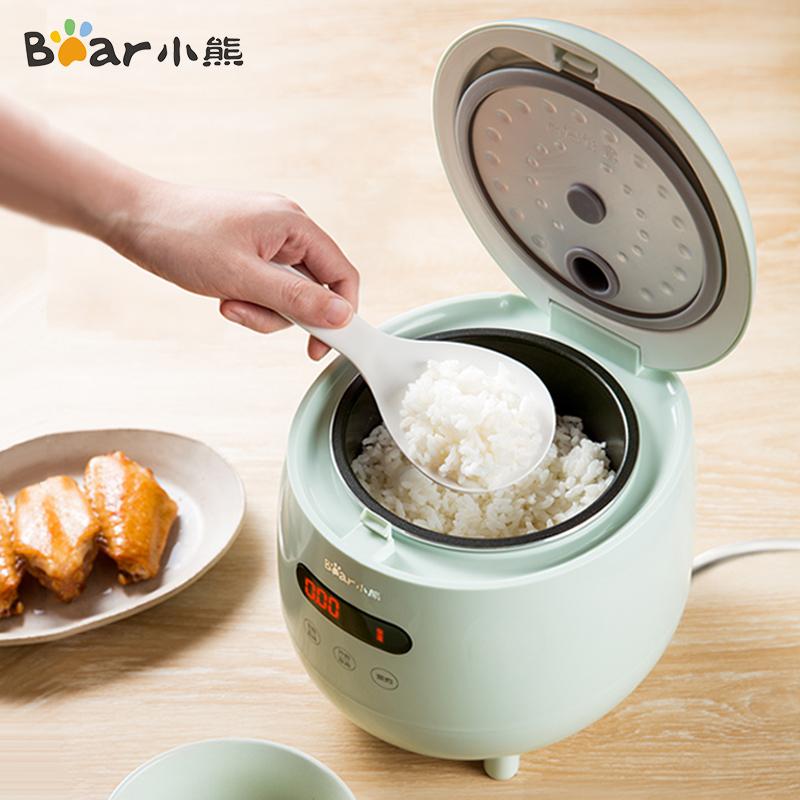 小熊电饭煲家用迷你电饭锅小型1-2人3智能多功能宿舍一人食煮饭锅