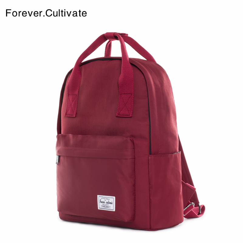 Forever cultivate shoulder bag woman 2019 new college style junior high school schoolbag man handbag