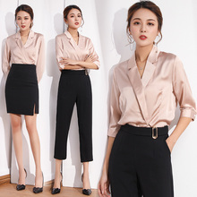Summer fashion stewardess uniform professional suit female beauty ol dress beautician work clothes temperament goddess
