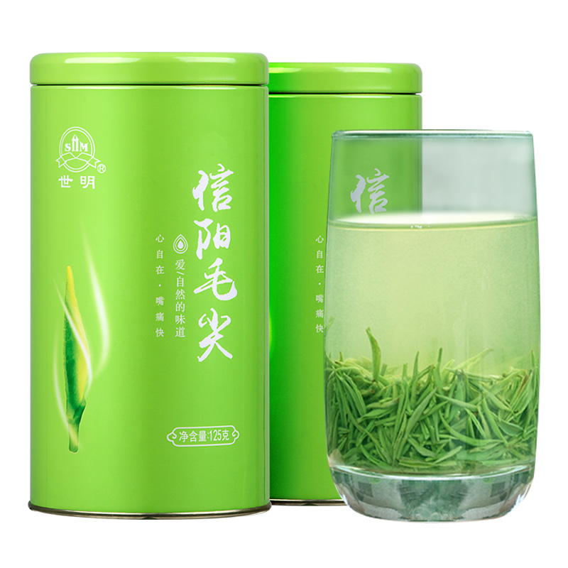 Shiming Xinyang Maojian 2020 New Tea Mingqian Super Sprout Maojian Tea Green Tea Luzhou Spring Tea Bulk 250g