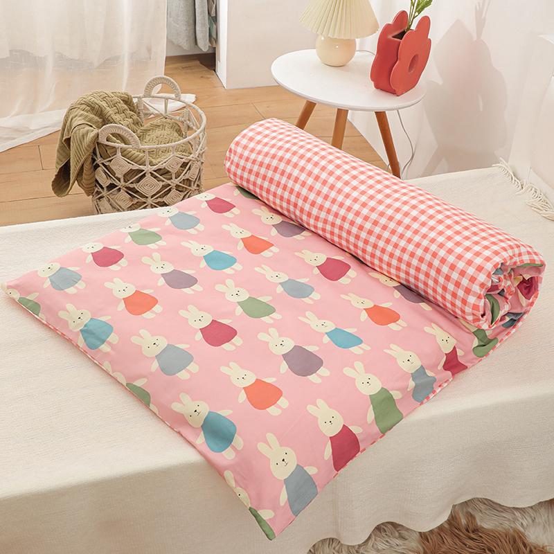 纯棉幼儿园床垫婴儿床褥子垫被儿童床褥宝宝棉花垫子午睡垫套全棉