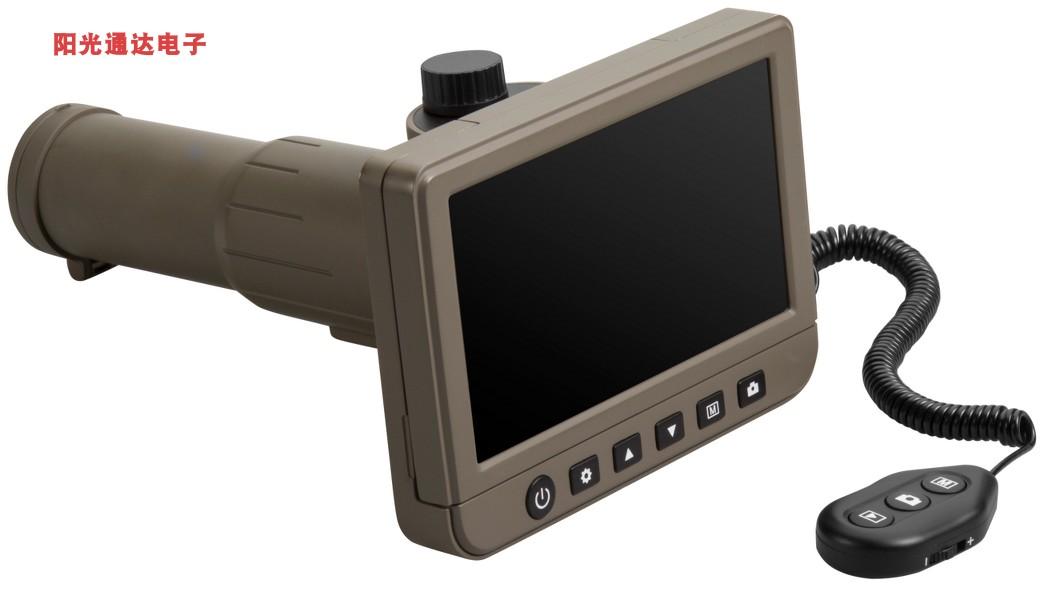 新款 专业级真高清 50X放大变焦 数码望远镜5寸大屏幕观鸟远距离