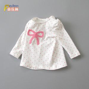 小女童宝宝秋装长袖t恤春秋打底衫