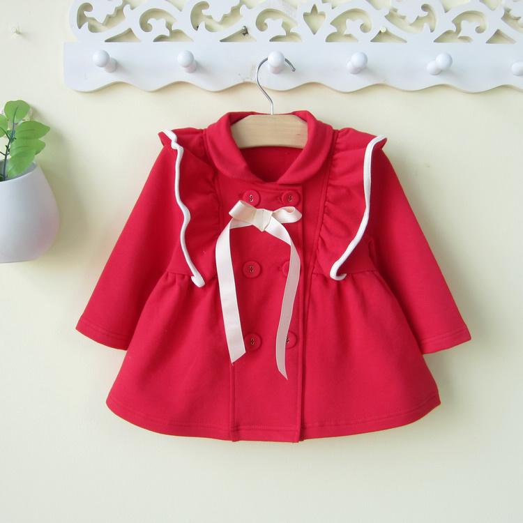 嬰兒女寶寶韓國風衣