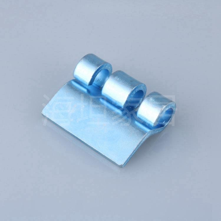 海坦 CL201铰链大附件 镀白锌爪型附件 配电箱柜控制柜门铰链附件