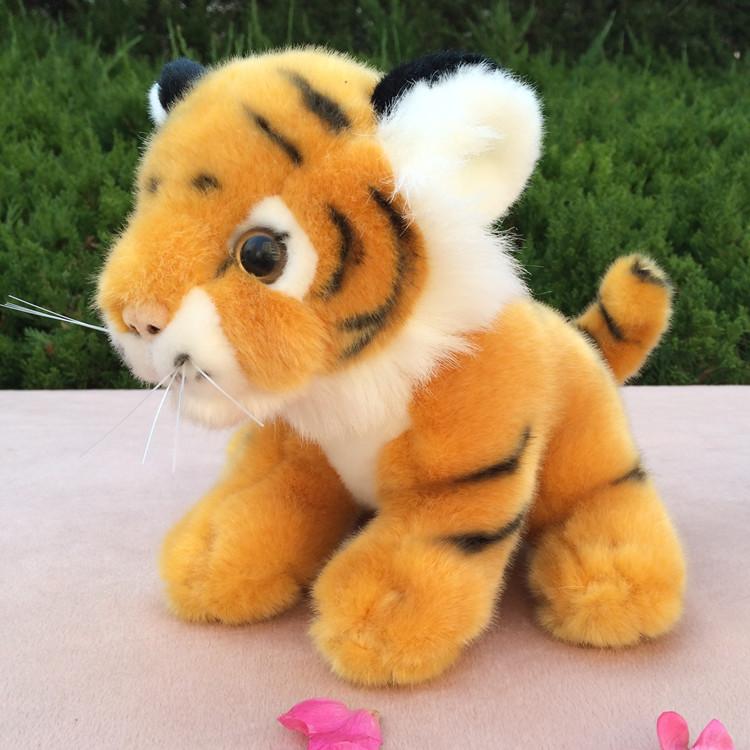 可爱老虎毛绒玩具生肖虎公仔玩偶圣诞节礼品儿童送女生日礼物图片