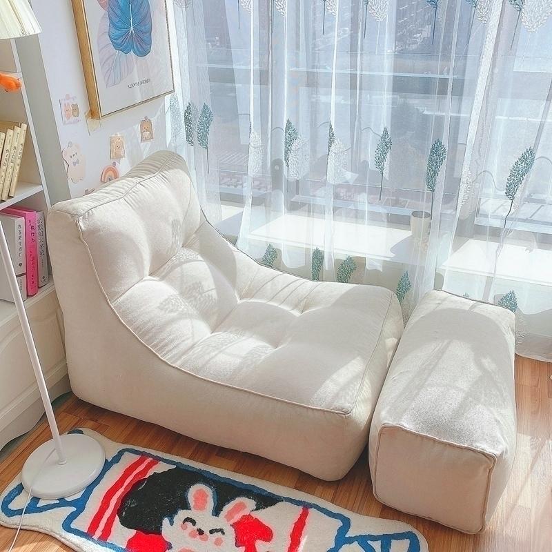 懒人沙发榻榻米单人阳台休闲小沙发好用吗