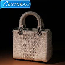 Cestbeau 2020 autumn and winter new Thai imported crocodile skin women's fashion princess one shoulder handbag