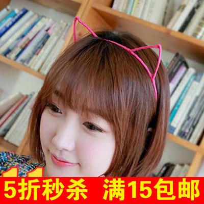 韩国卡通圣诞头饰恶魔牛角头扣卖萌发箍可爱发饰发卡耳朵头箍