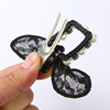 Children hairpin lace rabbit ears hair ring hairpin children lovely lady Princess Korea head ornaments hair rope rope