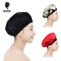 Baked Oil cap home perm dyed hair hat haircare haircut film heating cap not plugged into electric cap evaporation cap woman