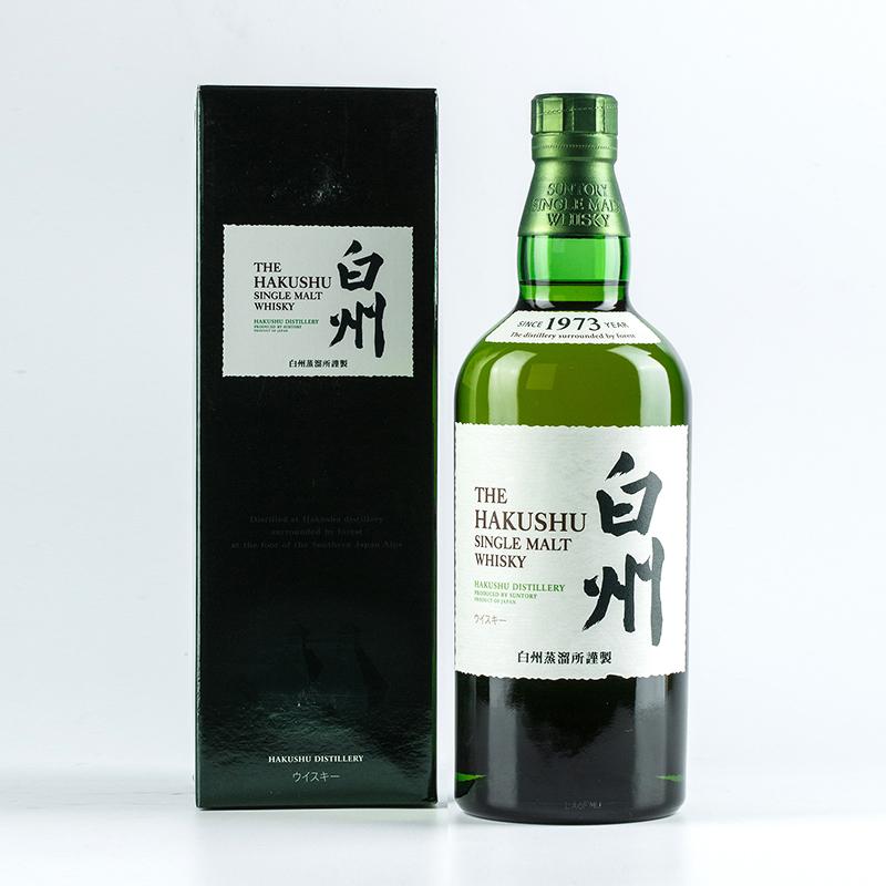 日本进口洋酒43度白州单一麦芽