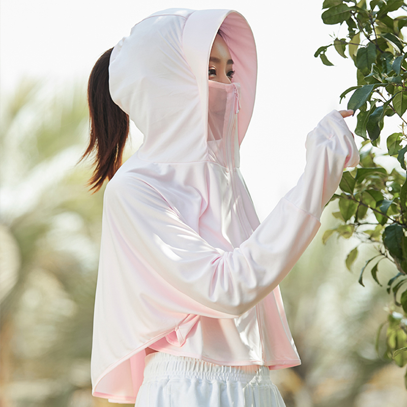 Sunscreen clothing women 2020 new long sleeve anti ultraviolet breathable ice thin summer driving jacket sunscreen cardigan