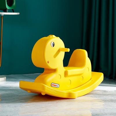 奥童加厚多功能儿童摇摇马 塑料小木马玩具 一岁宝宝周岁生日礼物