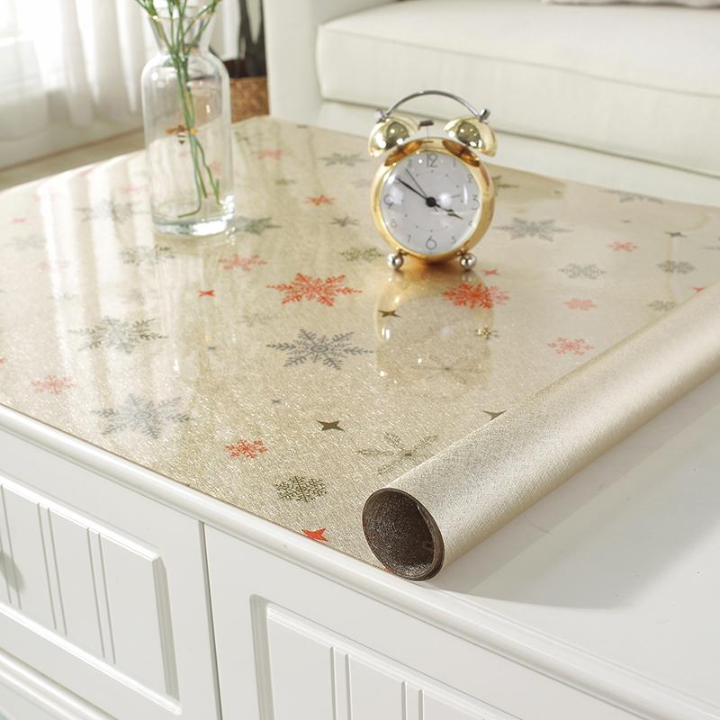 不透明茶几防水防油免洗防烫餐桌垫使用评测分享