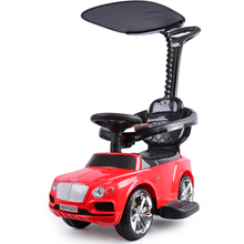 Bentley Children's Hand-Push Torsion Car 1-3 Years Old Baby Skating Car with Music Mute Wheel Four-Wheeled Learning Car