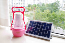 Camping lamp Solar 24LED lamp courtyard Lighting LED lighting outdoor portable lamp glowed implicit battery