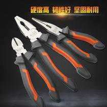 寸多功能電工鉗子五金工具尖口鉗尖咀鉗尖頭鉗8寸6力箭尖嘴鉗子