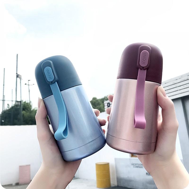 迷你保溫杯軟妹水杯男女學生韓國清新可愛便攜隨行泡牛奶超小杯子
