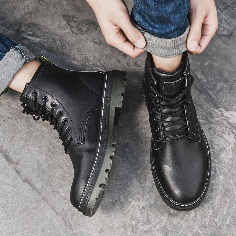 男加绒马丁靴短靴哪个好