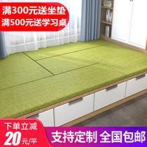 睐可双面榻榻米垫子定做椰棕乳胶床垫子可拆洗踏踏米地垫炕垫床热
