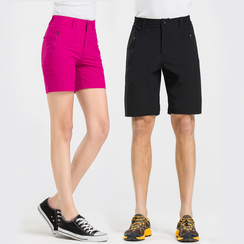 Heatoo outdoor quick drying shorts womens 3 / 5 mens 5 / 5 light running sports breathable loose fit hk5500