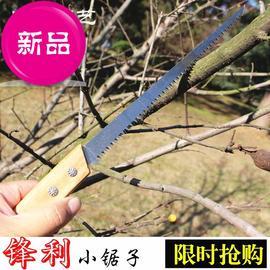y中国子小手板据锯子钢锯手剧多功能迷你伐木家用木工工具拉锯手