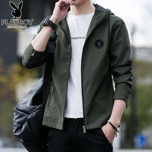 Playboy Men's Jacket Spring and Autumn Clothes