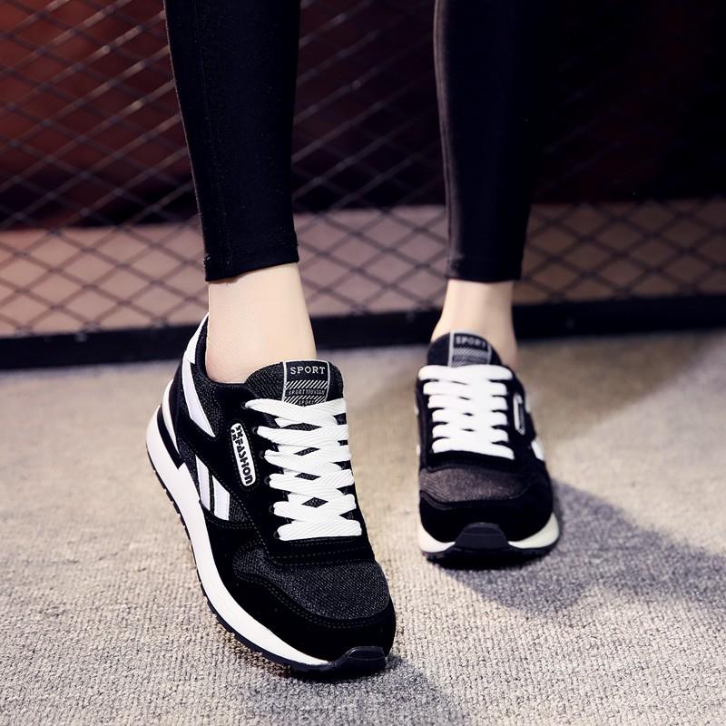 2020夏季ins超火新款跑步运动鞋女韩版阿甘百搭休闲学生平底女鞋