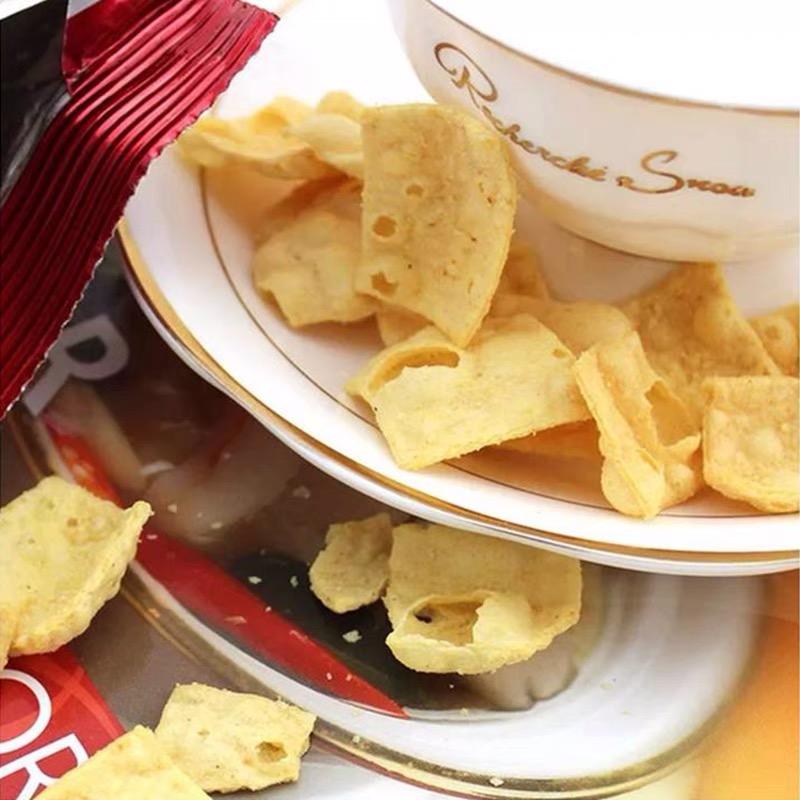 马来西亚进口 BIKA鸡味香菜味香薯片70g 办公儿童休闲追剧小吃