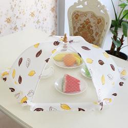 饭菜罩子桌盖可折叠餐桌剩菜食物防蚊罩菜盖饭罩家用遮菜碗罩菜伞