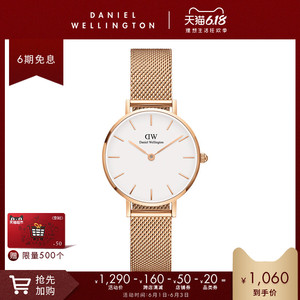 领100元券购买danielwellington dw 28mm女士女表