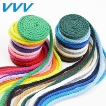 5MM Eight shares color cotton rope DIY hand-woven pocket drawstring pants rope Cotton rope Bundle pocket rope Hat Rope