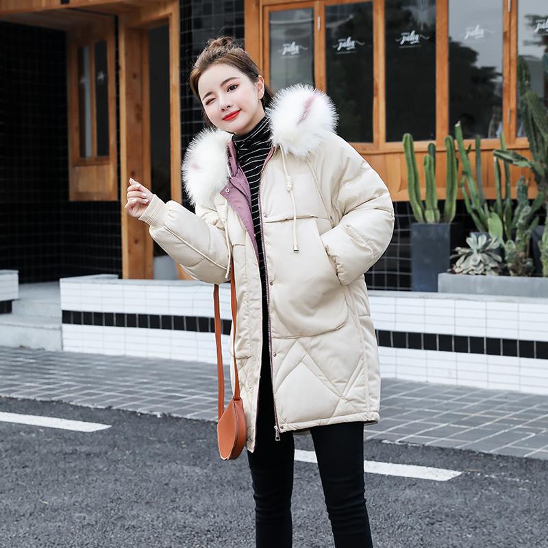 棉袄2019年新款棉服女中长款小个子棉袄外套冬季棉衣女潮ins超火