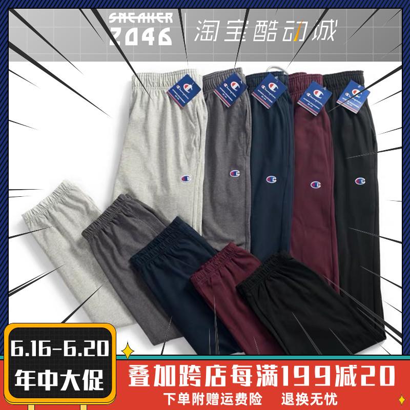 美版Champion Jogger Pants P7310嘻哈宽松长裤薄款收脚运动卫裤