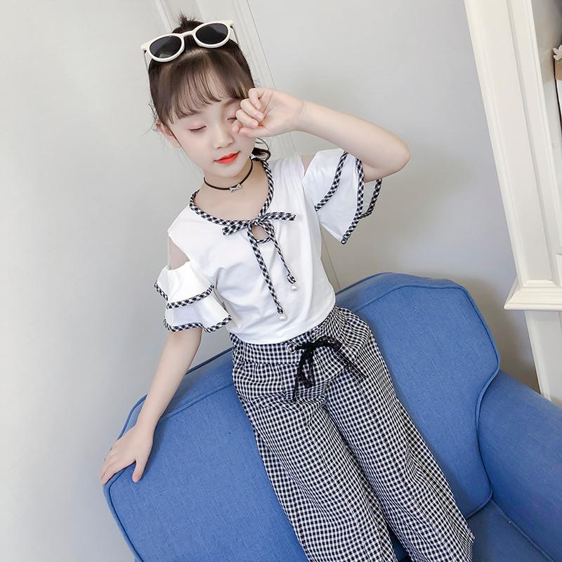 热销121件限时2件3折童装女童套装夏装2019新款8-10八11