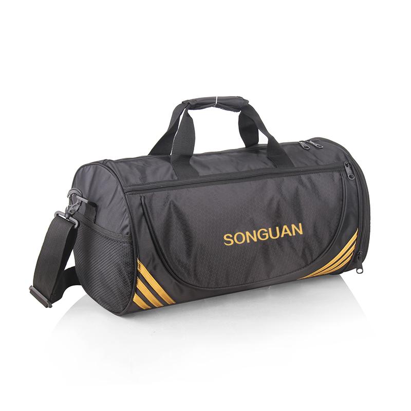 包健身包男鞋位圓筒包手提旅行包行李袋女單肩包訓練包定做