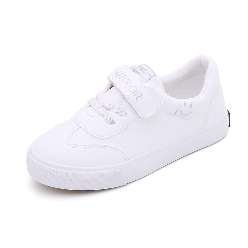 Huili children's shoes 2020 spring new boys' shoes children's small white shoes girls' shoes white board shoes girls' primary school shoes