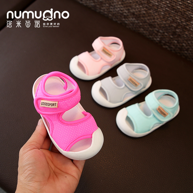限时抢购女凉鞋1-2岁宝宝不掉软底夏男童鞋