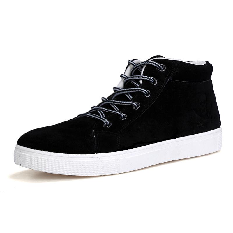 秋 棉鞋男士雪地靴男鞋 鞋二棉加厚保暖馬丁靴棉短靴子潮鞋