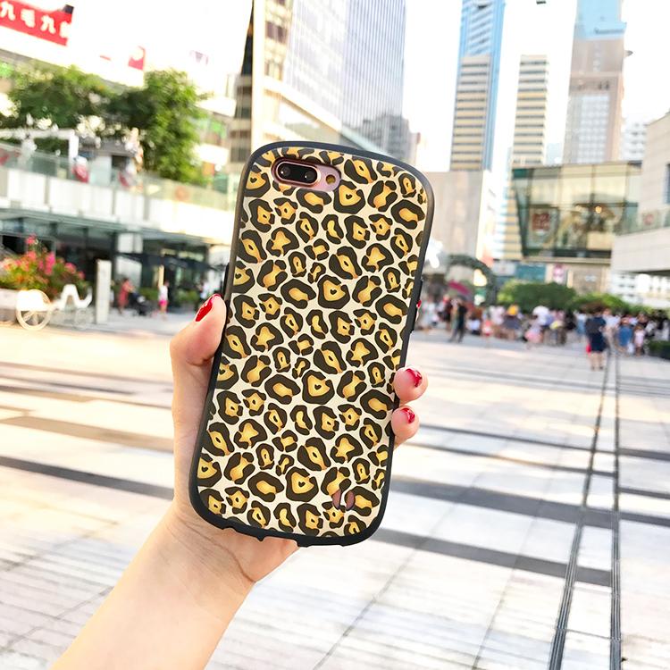 小蛮腰豹纹iphone7/8plus手机壳X全包苹果6p硅胶防摔保护套软壳女