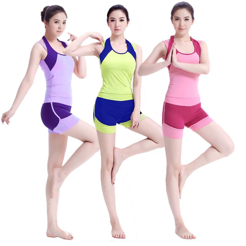 健身房服女初学者2019夏季瑜伽服满350.00元可用291元优惠券