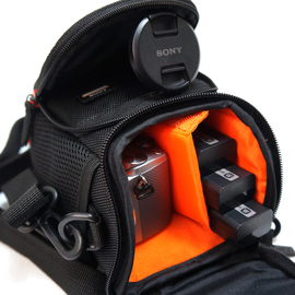索尼微单a6000相机包单肩ILCE-a6300/6400 a6600 a6100摄影包a7m3