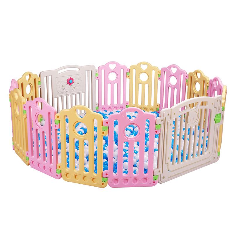 麻麻嬰幼兒遊戲圍欄兒童安全爬行圍欄寶寶學步防護欄玩具室內柵欄