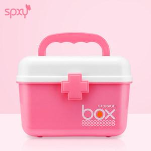 家用医药箱多层急救小号儿童药品收纳盒薬箱医疗箱塑料家庭大药箱
