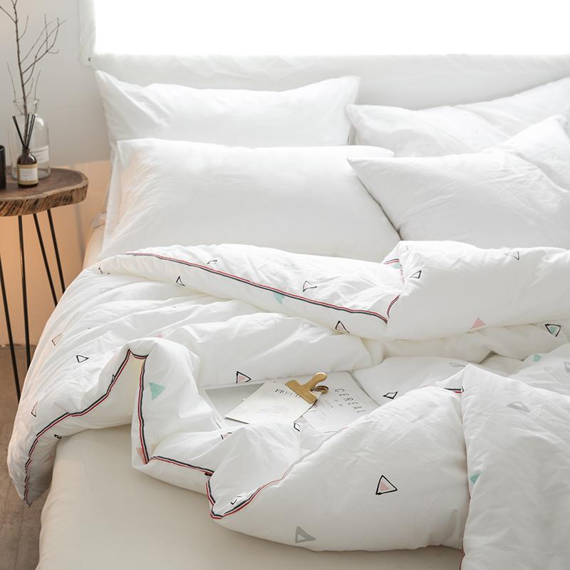 (用10元券)全棉被子冬被双人空调被纯棉儿童学生宿舍棉被单人6/3/4斤春秋被