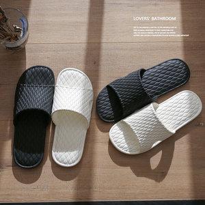 领5元券购买拖鞋男士夏季室内情侣家居家用防滑软底洗澡浴室地板女夏天凉拖鞋